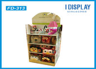 Custom Retail Cardboard Display Stands For Plush Daily Necessities